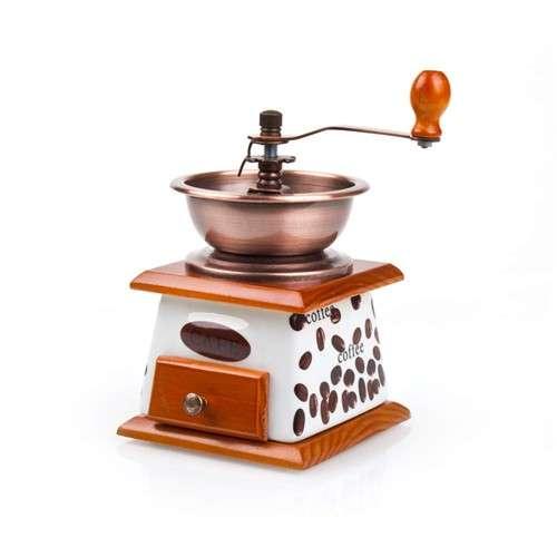 Mlýnek na kávu ruční keramicko-dřevěný CAFE CULINARIA Banquet