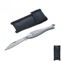 Nůž skládací - rybička včetně pouzdra