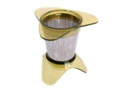 Sítko na čaj - čajník - čajové sítko do hrnku se stojánkem