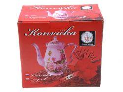 Konvička růžový porcelán vysoká Smart Cook