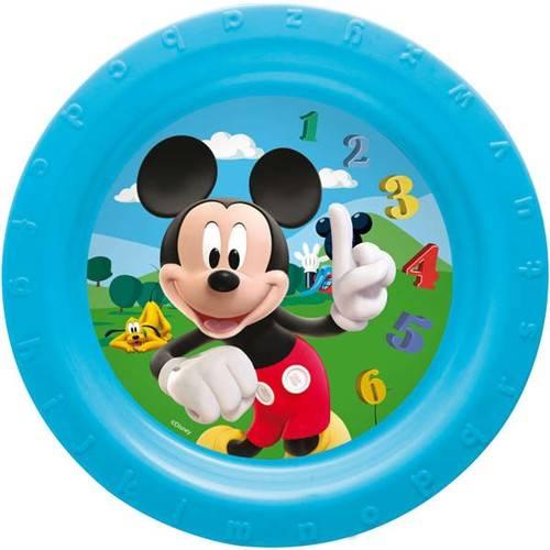 Talíř mělký 22cm, Mickey Mouse Banquet