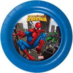Talíř mělký 22cm, Spiderman Banquet