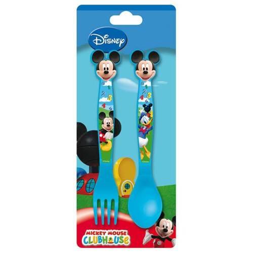 Příbor dětský 2 dílný plastový, Mickey Mouse Banquet