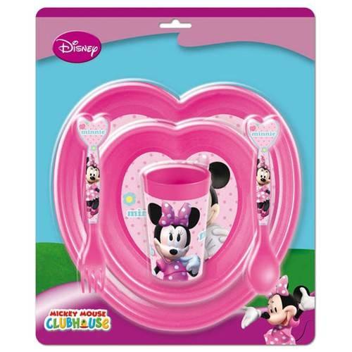 Dětská sada nádobí 5 dílná plastová, Minnie Banquet
