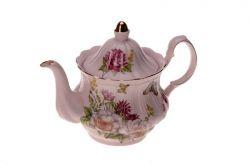 Konvička růžový porcelán nízká
