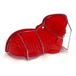 Silikonová forma Beránek červený - silikonový beránek