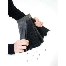 BANQUET Stojan na keramické nože Brillante se štětinami - Blok na nože
