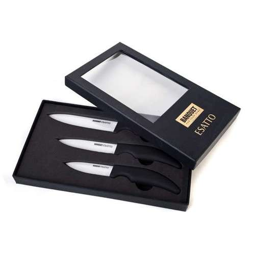 Keramické nože sada 3 nože dárkové balení Banquet ESATTO