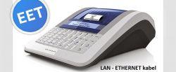 Registrační pokladna EURO-150TEi Flexy EET LAN+WIFI Ethernet + wifi + Pokladní zásuvka CD-530 černá ELCOM