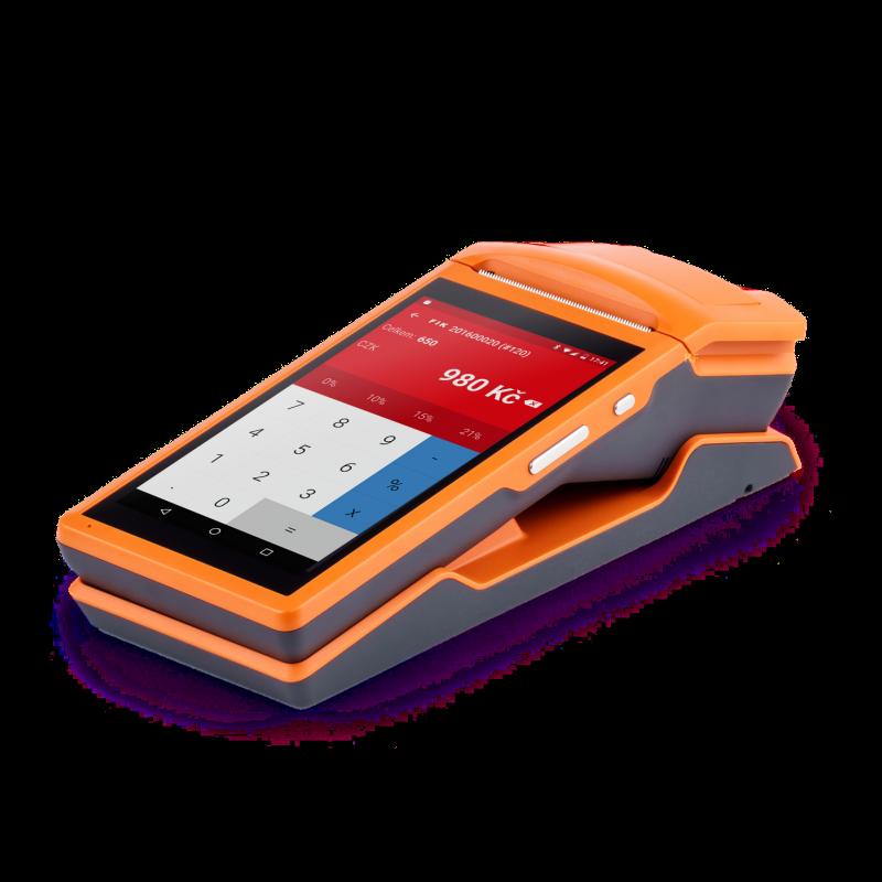 Pokladna KASA FIK ORANGE s pokladní aplikací + upgrade na plus v hodnotě 1209,- zdarma