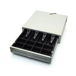 Pokladní zásuvka CD-840 K, světlá pro pokladny EURO včetně kabelu pro propojení
