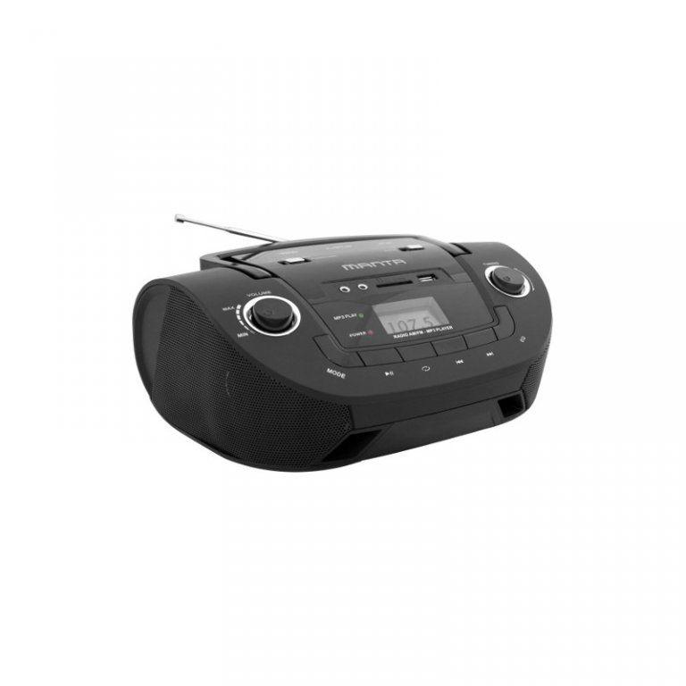 MANTA Přenosný stereo přehrávač Boombox Manta MM208