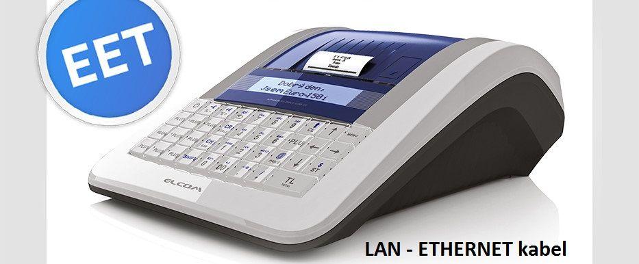 ELCOM Registrační pokladna Elcom EURO-150TEi LAN Ethernet EET