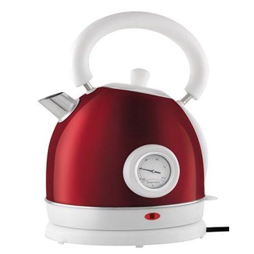 Rychlovarná konvice s teploměrem Botti Milo - červená 6C3590