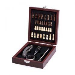 Souprava na víno s šachovnicí - sada 36 ks