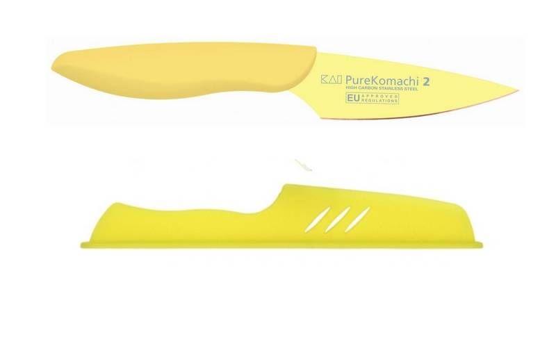 KAI Pure Komachi 2 - Nůž malý univerzální s plastovým pouzdrem, délka ostří 9cm