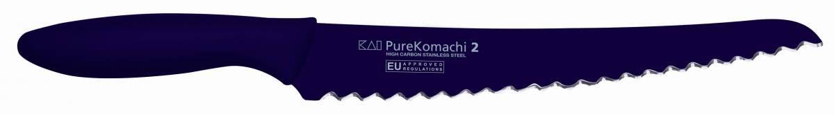 KAI Pure Komachi 2 - Nůž na pečivo délka ostří 21 cm