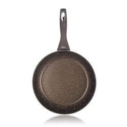 Pánev s nepřilnavým povrchem GRANITE Dark Brown 28 cm Banquet