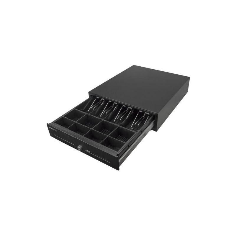 Pokladní zásuvka CD-530 K, černá pro pokladny EURO včetně kabelu pro propojení