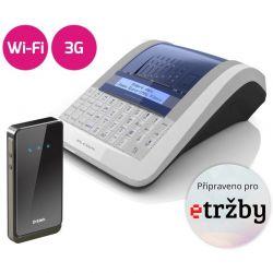 Registrační pokladna EURO-150TEi Flexy EET WIFI + 3G MODEM