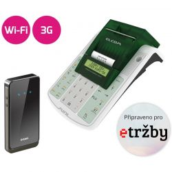 Registrační pokladna EURO 50TEi Mini EET WIFI + 3G MODEM