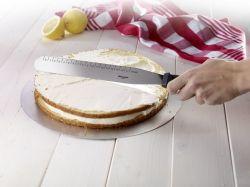Stěrka / nůž na dort rovný, nerezový, 38,5 x 3,5 x 3,2 cm Westmark