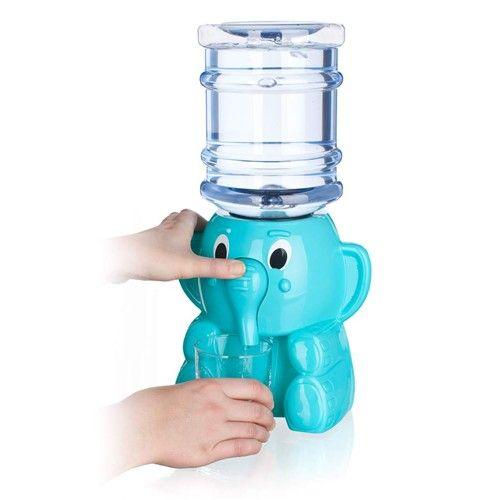 Banquet Výdejník vody pro dětí Slon - Zásobník na vodu BANQUET Modrý