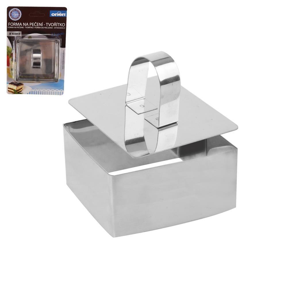Forma na pečení a servírování tvořítko+píst čtverec Orion
