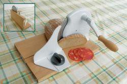 Kráječ na chléb a potraviny mechanický LODOS Trend - rukojeť dřevo