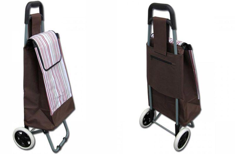 Nákupní taška na kolečkách 87 x 35 x 28 cm Brilanz