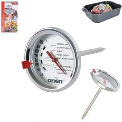 Teploměr vpichový nerez na pečení masa Sonda 50-90°C