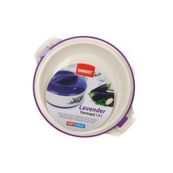 Termohrnec s poklicí LAVENDER 1,5 l - Levandule Banquet