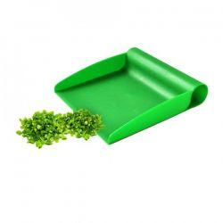 Kuchařská lopatka, plast, zelená špachtle