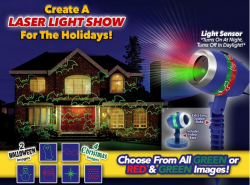 Star Shower Laser Magic MEDIASHOP