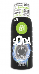 LIMO BAR sirup Energy drink 500 ml