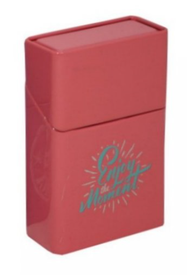 Pouzdro na krabičku cigaret ENJOY růžové