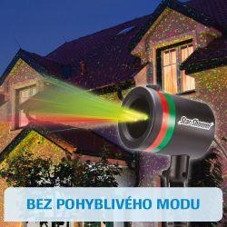 Star Shower Laserová dekorační lampa