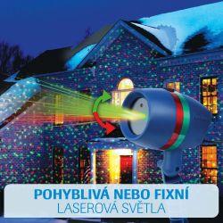 Star Shower Motion - Laserová lampa s pohyblivými světly
