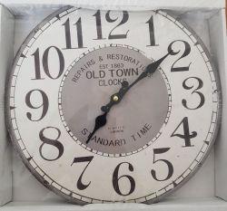Hodiny nástěnné Old Town 34 cm