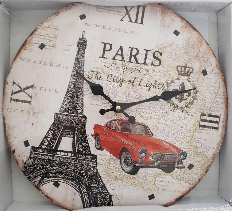 Hodiny nástěnné Paris 34 cm Goba