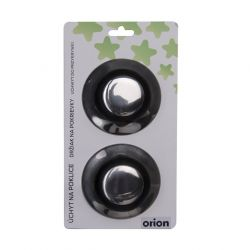 ND úchyt nerez/UH na poklici pr. 6 cm 2 ks - knob Orion
