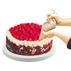 Otočný stojan na dort nízký průměr 27 cm Orion