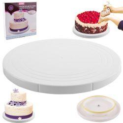 Otočný stojan na dort nízký průměr 27 cm