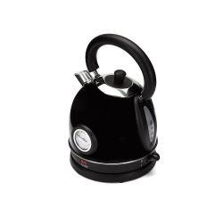 Rychlovarná konvice s teploměrem Botti Milo - černá 6C3552