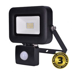 Solight LED reflektor PRO se senzorem, 10W, 850lm, 5000K, IP44