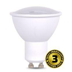 Solight LED žárovka, bodová , 5W, GU10, 3000K, 400lm, bílá