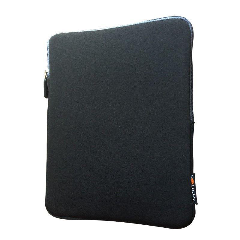 Solight neoprenové pouzdro na tablet 10'', nárazuvzdorné polstrování, černé