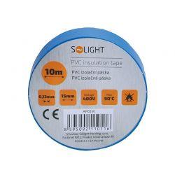 Solight izolační páska, 15mm x 0,13mm x 10m, modrá