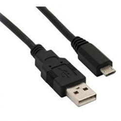 Solight USB kabel, USB 2.0 A konektor - USB B micro konektor, sáček, 1m