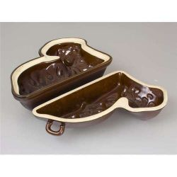 Forma na beránek keramický - dvoudílný Banquet